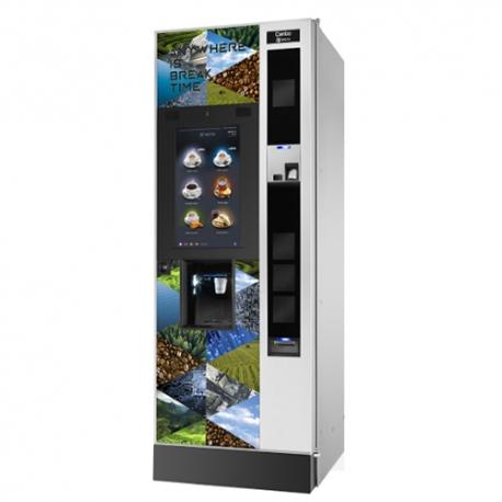 Distributore automatico Necta Canto Touch Doppio Espresso Dual Cup